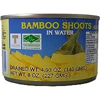 Conservas de brotes de bambú