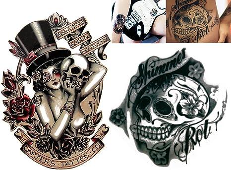 Novoskins para tatuaje temporal pintado a mano artista del tatuaje ...