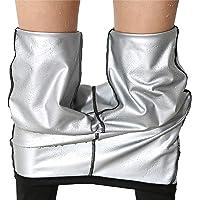 ZSWW Pantalones Deportivos para Mujer Adelgazar, Moda Mallas Pántalones Leggings Deportivos de Skinny Elástico Alta…