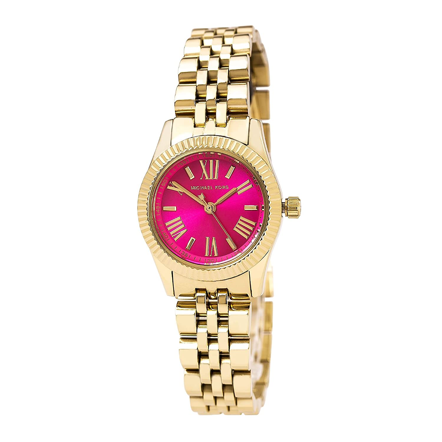watches pink spade watch s metro strap accessories gallery new product womens kate york leather light women lyst normal