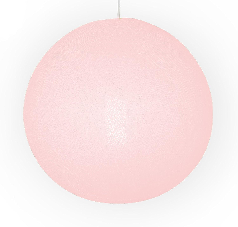 Auténticas Lámparas De Techo Cable & Cotton® con Bola En Color Rosa Palo - con Una Esfera De 38 Cm De Diámetro Que Iluminará Su Hogar