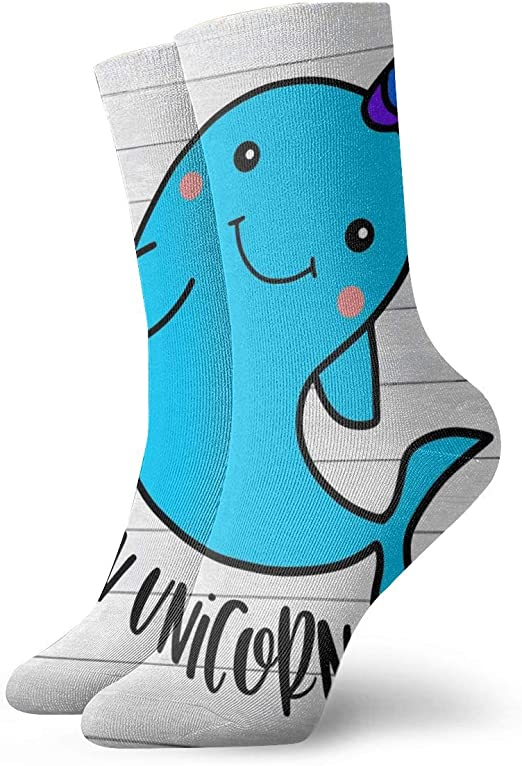 WEEDKEYCAT Ocean Octopus Cartoon Adult Short Socks Cotton Gym Socks for Mens Womens Yoga Hiking Cycling Running Soccer Sports