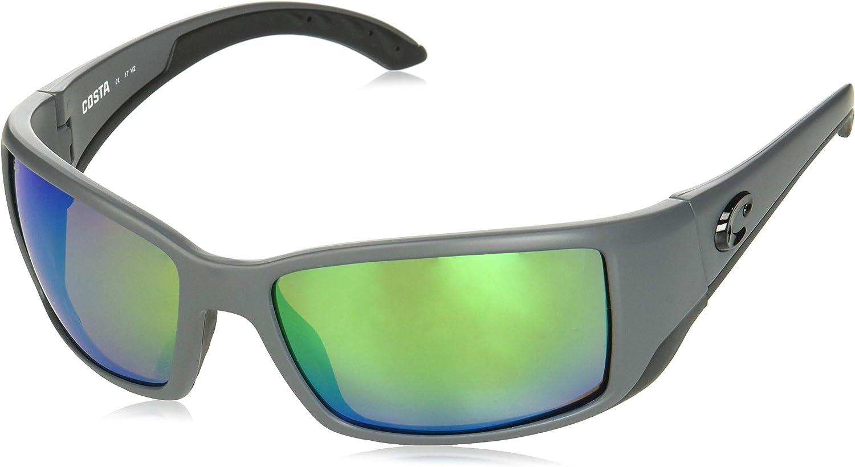 W580 Tortoise Frame Sunglasses w//Cloth Costa Del Mar Fantail Green Mirror Glass