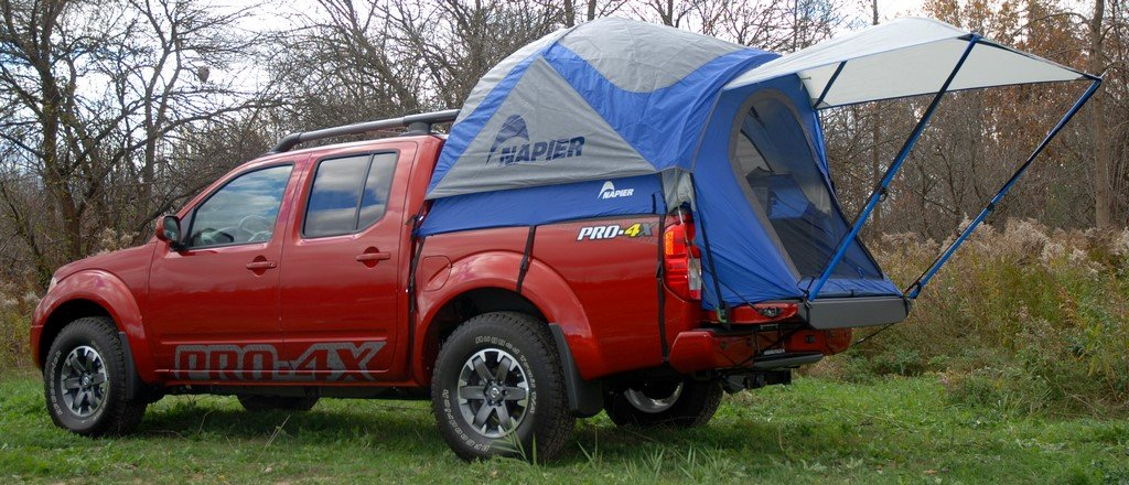 Napier Outdoor Sportz Truck Tent - Compact Bed Amazon.co.uk Car u0026 Motorbike & Napier Outdoor Sportz Truck Tent - Compact Bed: Amazon.co.uk: Car ...