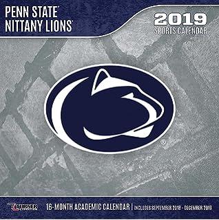 Psu Calendar 2019 Amazon.: Vintage Penn State Nittany Lions 2019 College