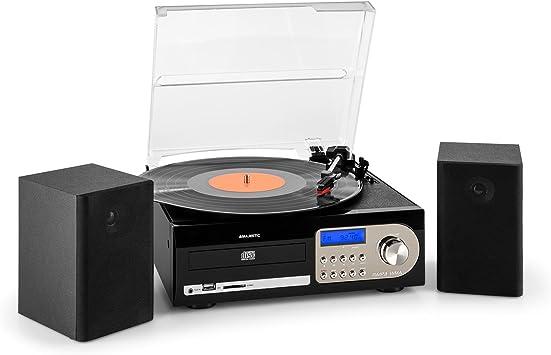 New Majestic TT-38 - Tocadiscos para Equipo de Audio, Negro ...