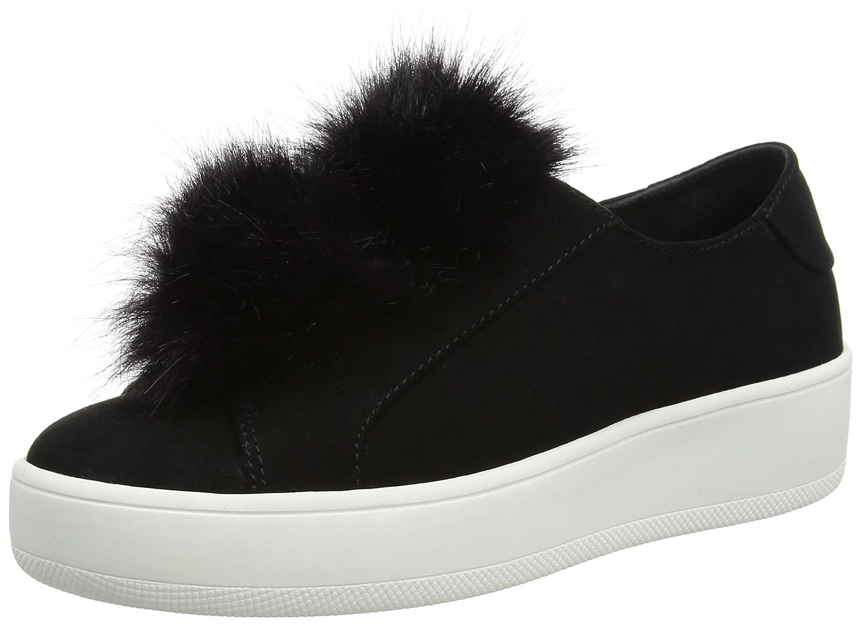 Steve Madden 91000212-0W0, Zapatillas Slip-on Mujer 7.5 UK/ 41 EU|Negro (Black)
