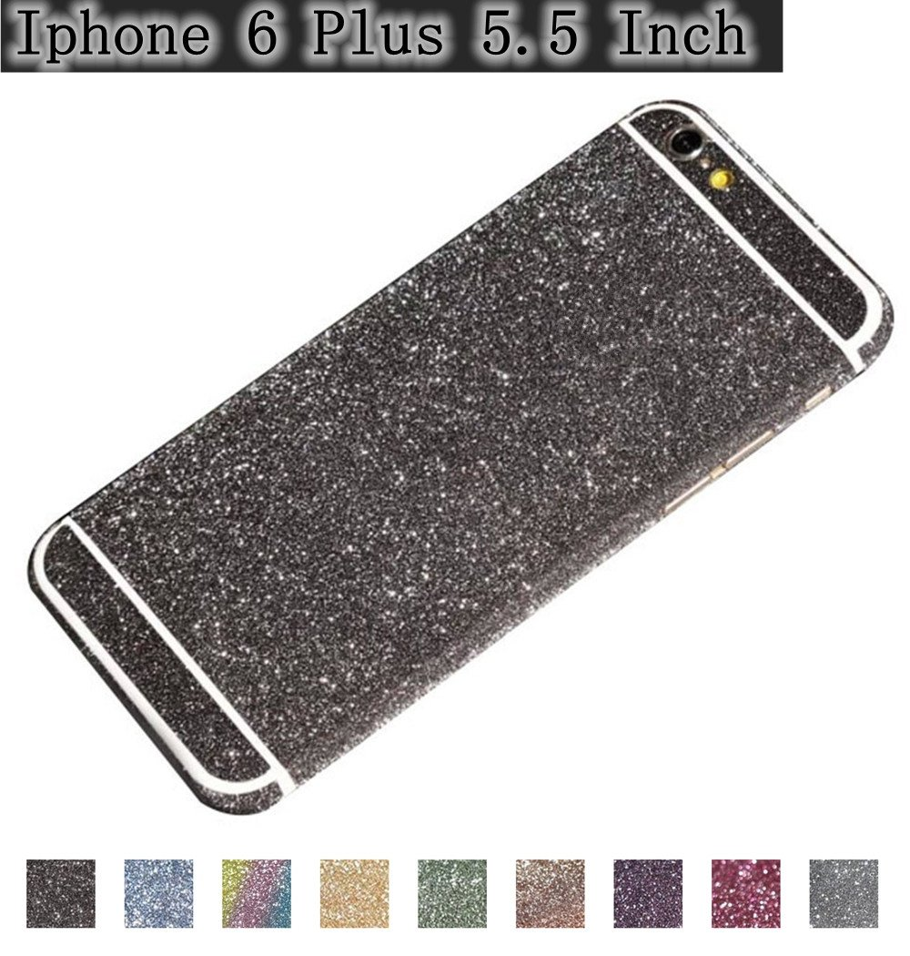 half off fc294 1d393 iPhone 6 Plus Case,6S Plus Cover, 5.5 Inches Sparkle Sticker Protector,  Gravydeals Luxury Bling Sticker Decal Glitter Front & Back Scratch  Resistant ...