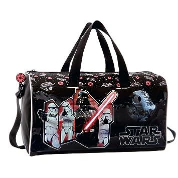 Disney Star Wars Sac de Voyage, 40 cm, 24.64 L, Noir