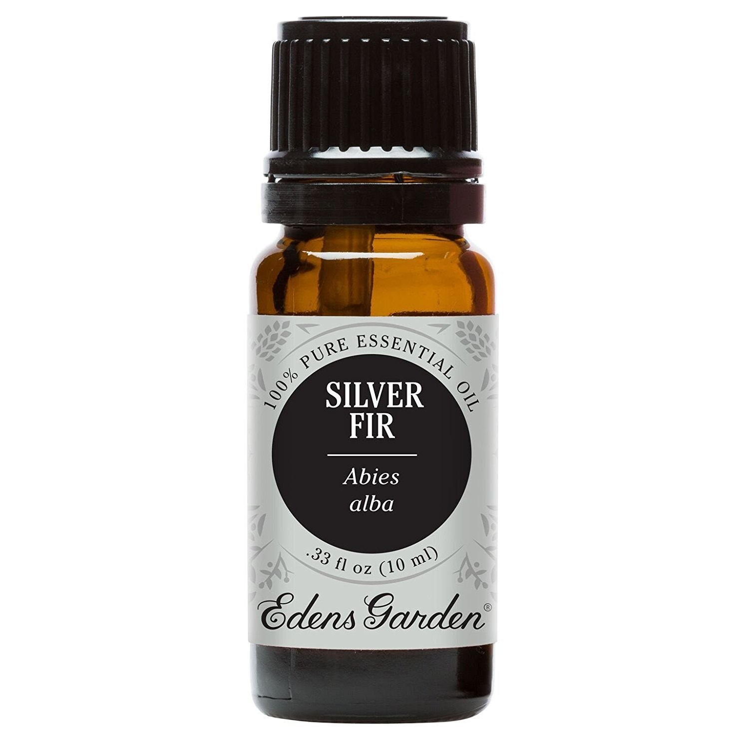 Silver Fir Essential Oil (100% Pure, Undiluted Therapeutic/Best Grade) High Quality Premium Aromatherapy Oils by Edens Garden- 10 ml