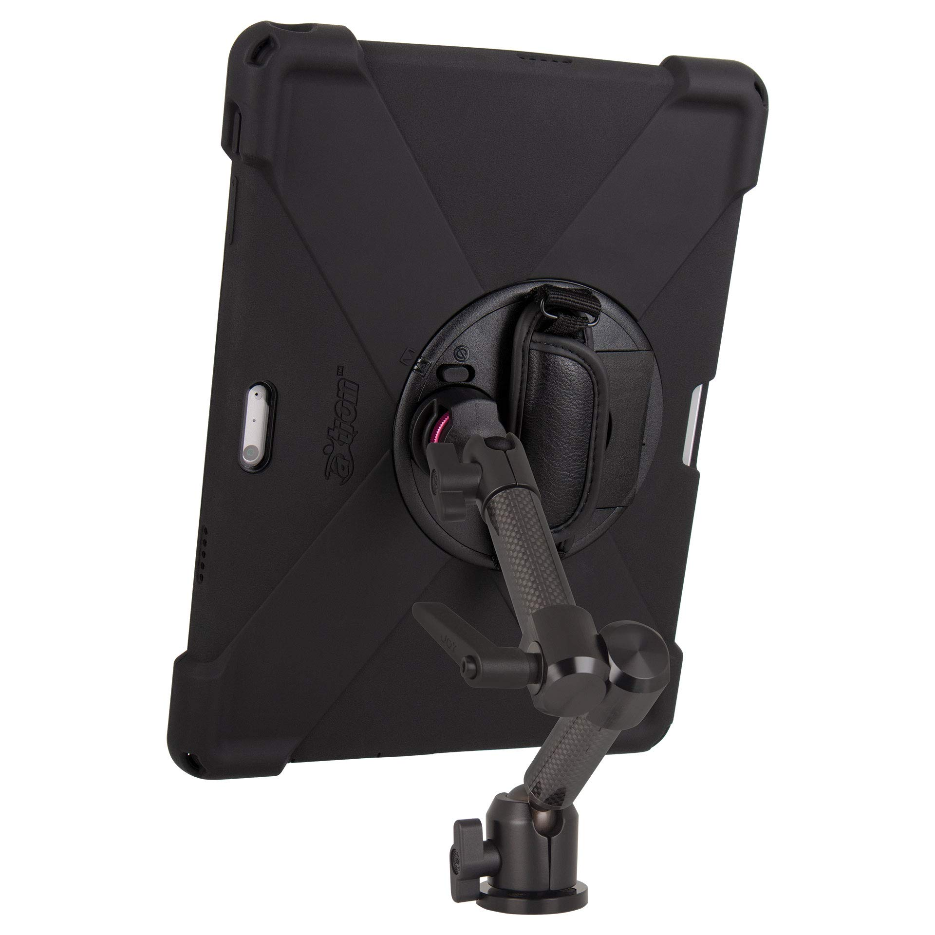 The Joy Factory MagConnect Carbon Fiber Wall/Counter Mount w/aXtion Bold MP Water-Resistant Rugged Shockproof Case for Surface Pro 4/5/6, Built-in Screen Protector, Hand Strap, Kickstand (MWM3004MP) by The Joy Factory (Image #2)