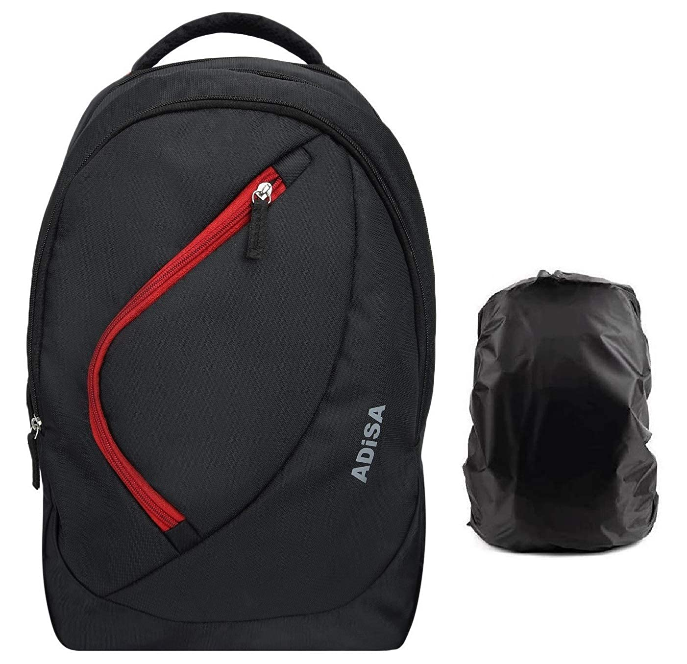 ADISA BP010 Light Weight 35 Ltrs Casual Backpack with rain Cover
