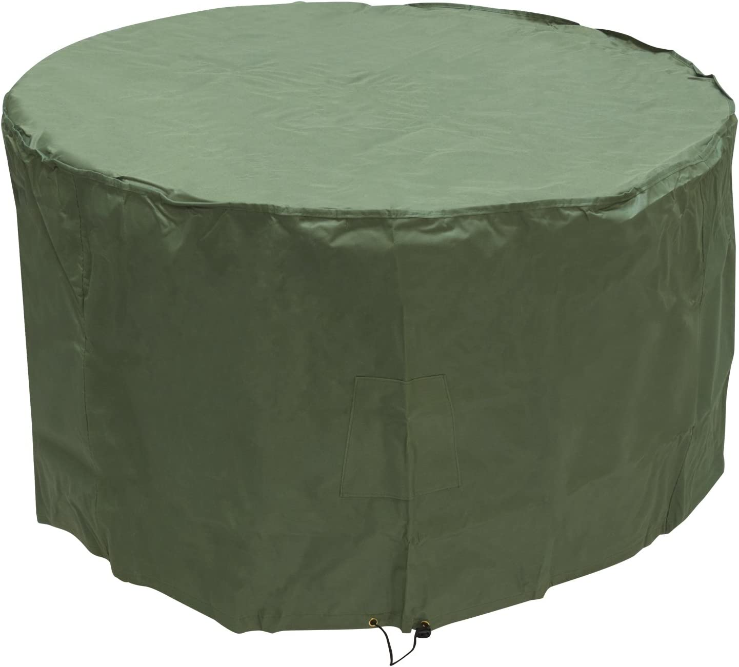 4.7ft x 3.2ft Small Round Outdoor Garden Patio Furniture Set Cover 1.42m x 0.96m