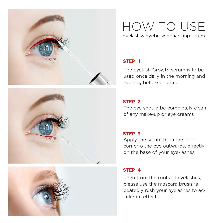 New Eyelash Growth Serum And Eyebrow Growth Serum Thickening And