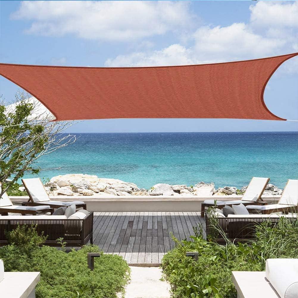 Heatile 4 x 4 m Toldo Vela de Sombra Cuadrado Proteccion Solar PES Repelente del Agua Resistente a la Intemperie para Patio, Exteriores, Jardín: Amazon.es: Deportes y aire libre