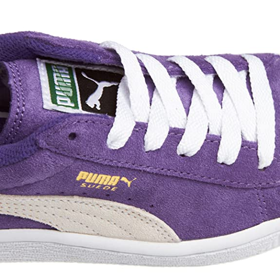 PUMA Suede Kids Baby und Children leather lila 355116 04 purple, pointure:eur 19