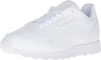 Reebok Classic leather, Baskets pour homme blanc blanc