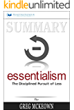 Summary: Essentialism: The Disciplined Pursuit of Less