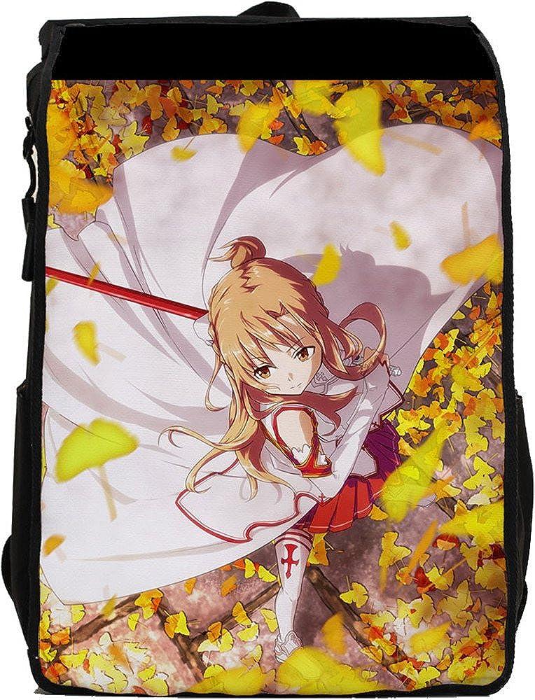 SiawaseyソードアートオンラインアニメKirigaya和人Kiritoコスプレキャンバスバックパックスクールバッグ   B015V2F0WE