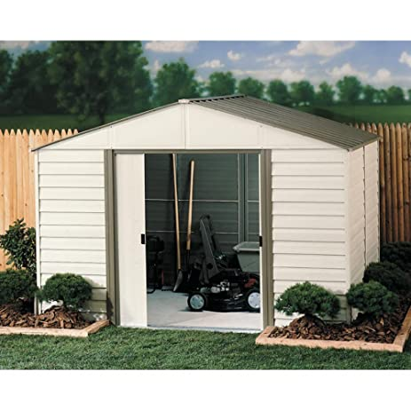 arrow shed vinyl milford shed 10 x 8 ft