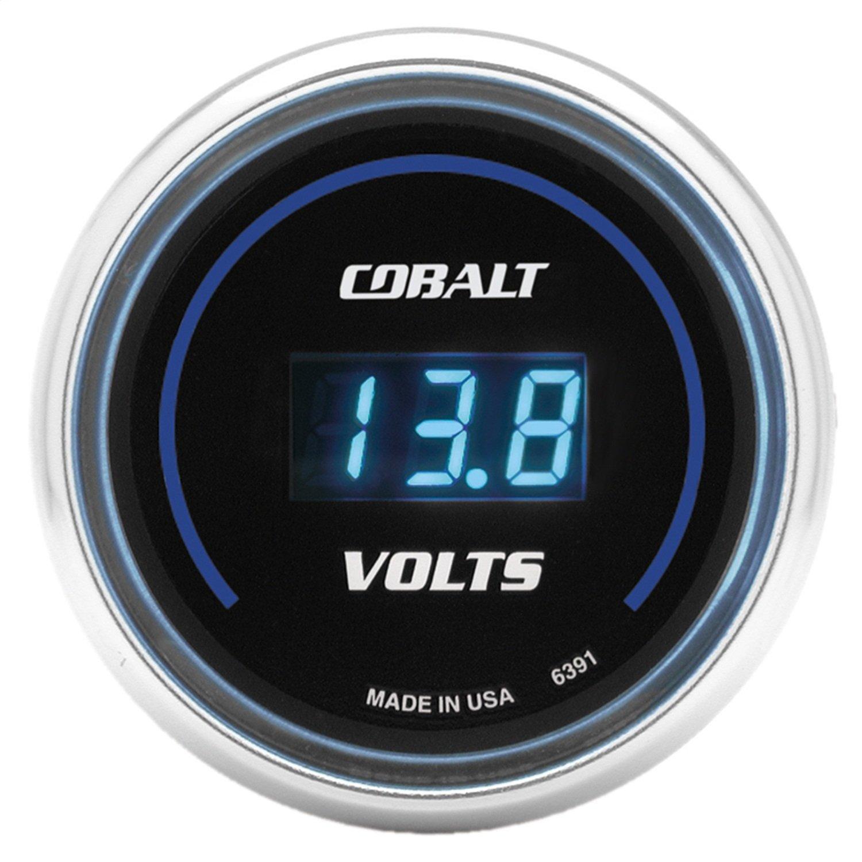 Auto Meter 6391 Cobalt Digital Voltmeter Gauge