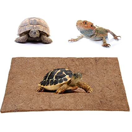 Reptil Fibra de Coco Alfombra Estera Alfombra Lagartos Terrario ...