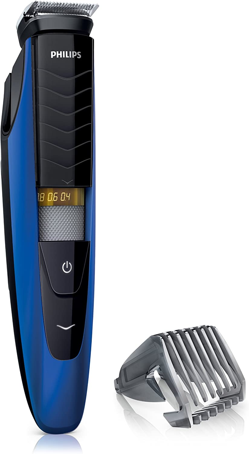 Philips BT5260/32 - Cortadora de vello facial, color negro: Amazon ...