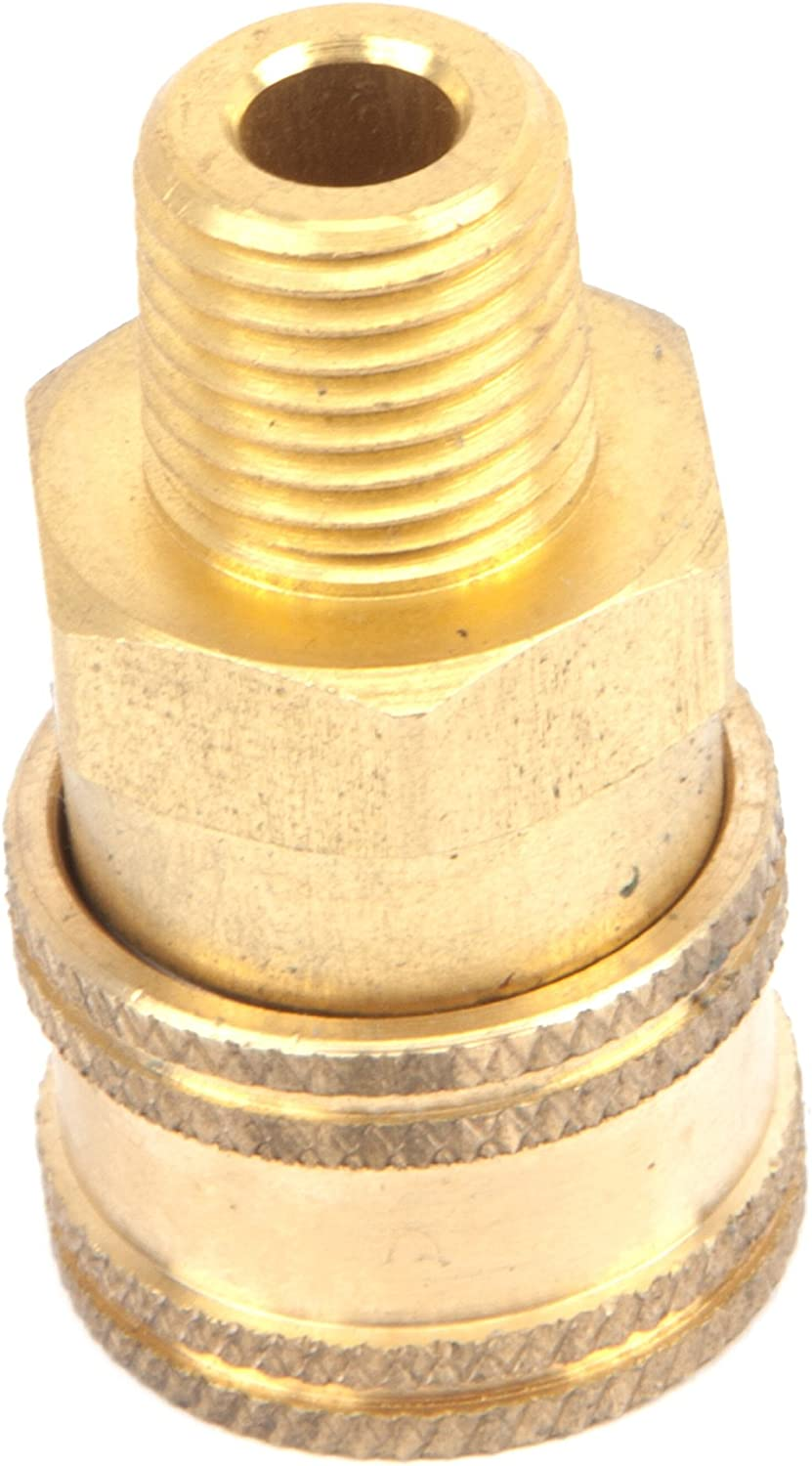 Forney 75126 Quick Coupler Male Socket 5,500 PSI 1//4inch M-NPT