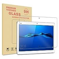 Infiland Huawei MediaPad M3 Lite 10 Pellicola Protettiva, Pellicola Protettiva Schermo in Vetro Temperato per Huawei MediaPad M3 Lite 10 Tablet-PC(Tempered-Glass - 1 Pack)