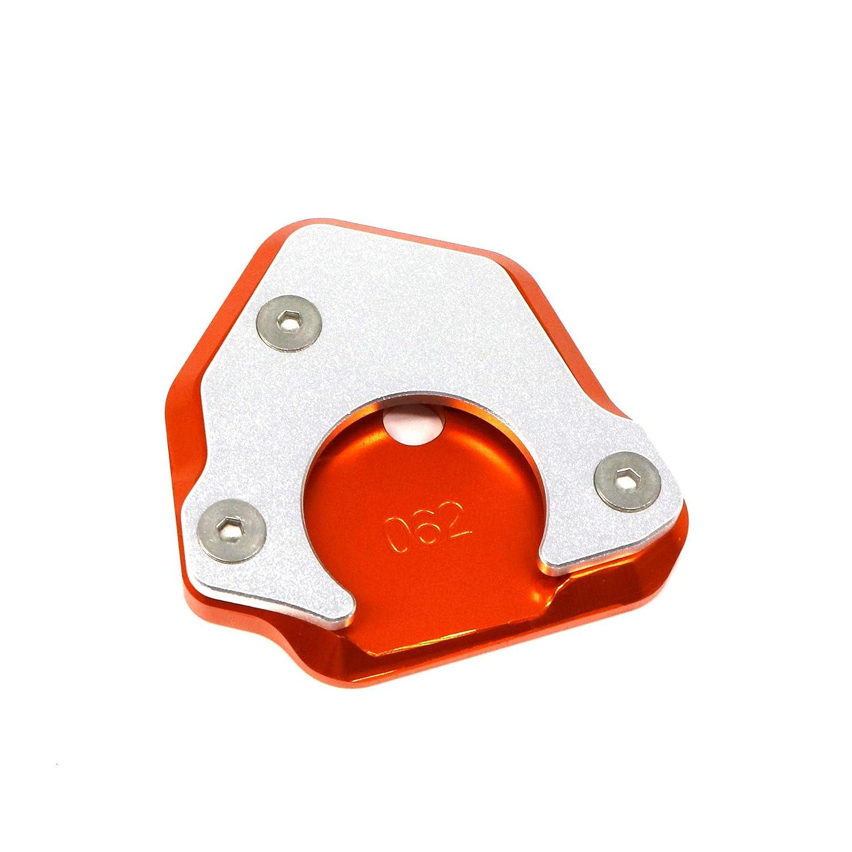 PinShang Guard CoverSide Kick Stand Pad Kickstand Pedal for KTM DUKE125//200//390 RC125//200//390 990 Orange