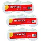 Universal 35720 Adding Machine/Calculator Roll, 16, 1/2 Core, 2-1/4 x 150, White (Pack of 9)