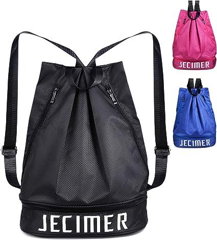 Sport Fitness Bag Women Men Luggage Travel Dance Yoga Swimming Handbag Gray
