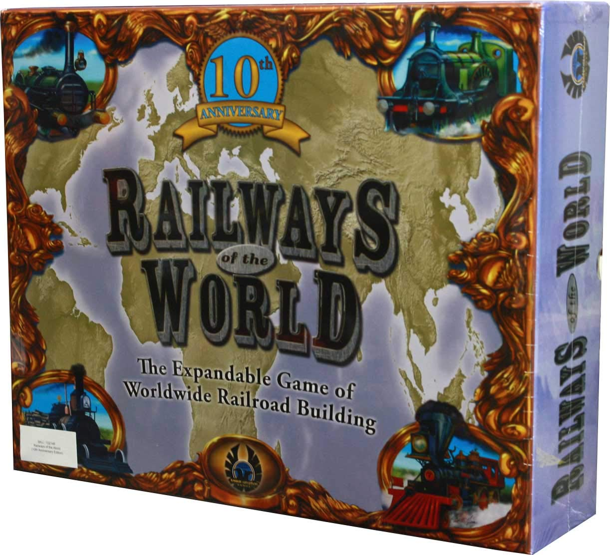 moda Eagle Railways of of of the World (10th Anniversary)  distribución global