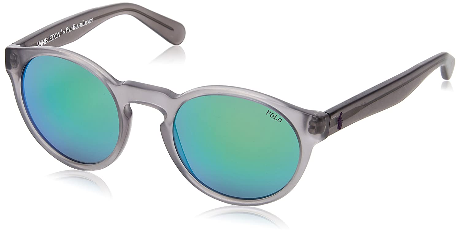 Ralph Lauren POLO 0PH4101 Gafas de sol, Vintage Crystal Grey, 52 ...