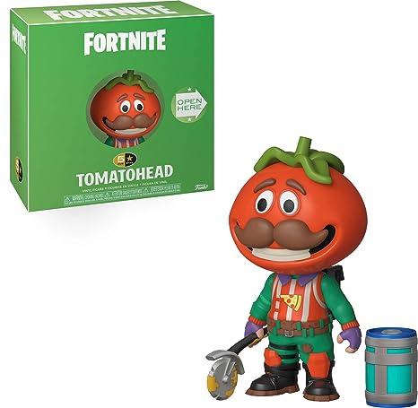 Funko- 5 Star: Fortnite: TomatoHead Figura Coleccionable, Multicolor (34684)