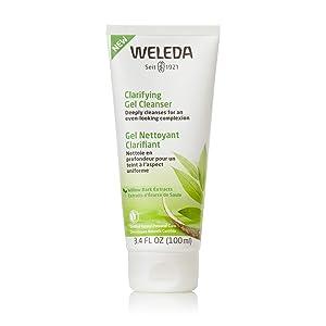 Weleda Clarifying Cleansing Face Gel Wash, 3.4 Fl Oz