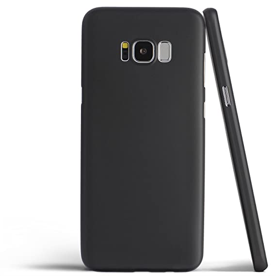 separation shoes 1ccf0 166af totallee Galaxy S8 Plus Case, Thinnest Cover Premium Ultra Thin Light Slim  Minimal Anti-Scratch Protective - for Samsung Galaxy S8 Plus (Midnight ...