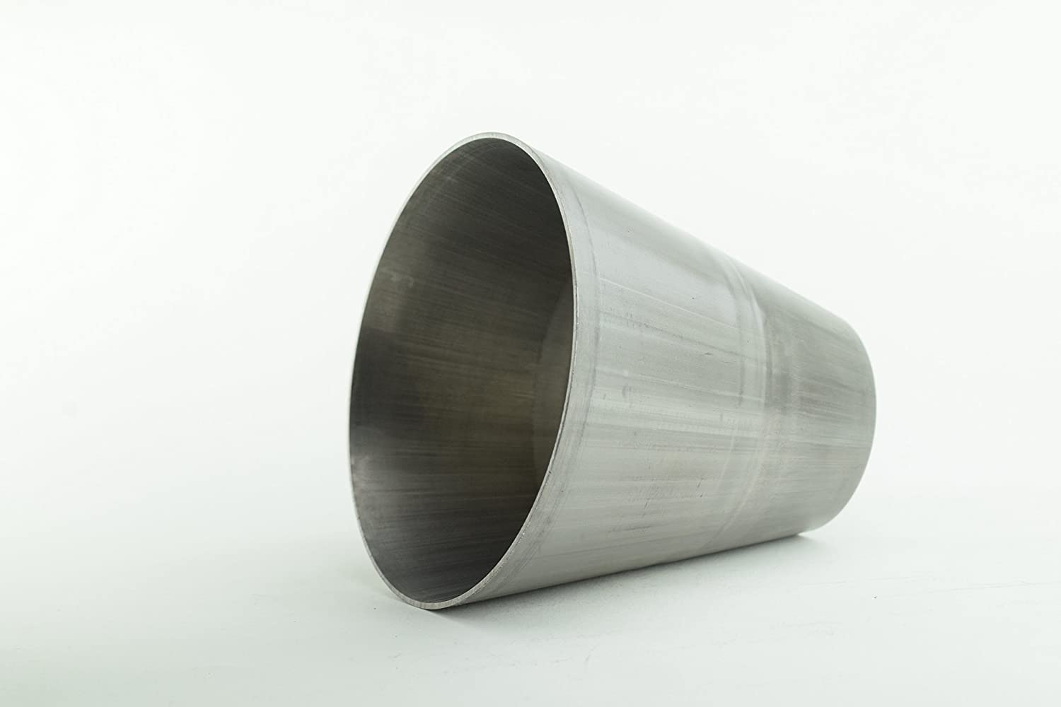 1 1//2 to 3 304 Stainless Steel Exhaust Transition Can Be Cut to Fit 2 to 3 B2 Fabrication 1.5