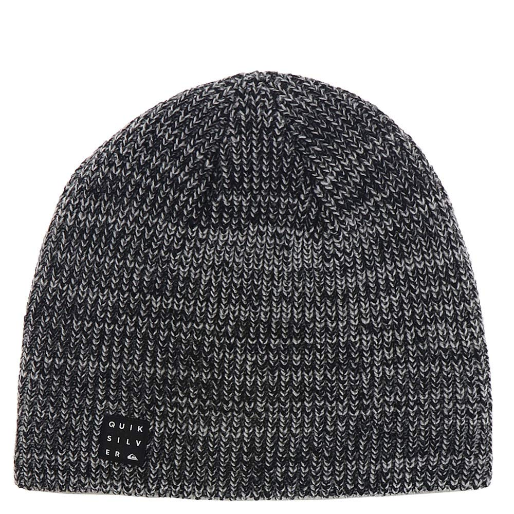 Quiksilver Big Boys' Silas Youth Beanie, Black Heather, 1SZ