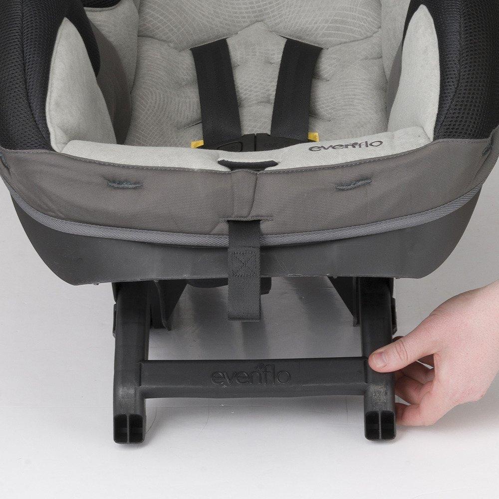 Evenflo SureRide 65 DLX Convertible Car Seat Sugar Plum Grey 37111334