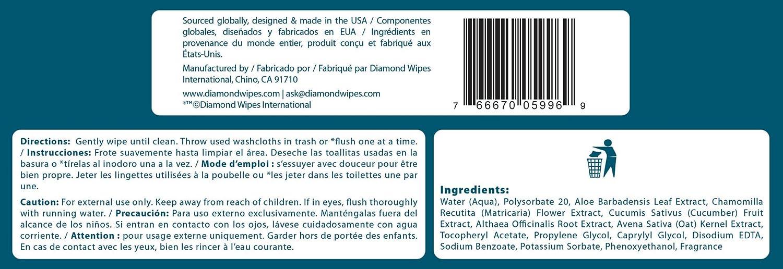 Amazon.com: Handybath Incontinence Flushable Adult Washcloths 100% Biodegradable with Fresh Scent- Extra Large 12 x 9