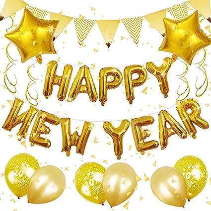 Happy New Year Balloons 90