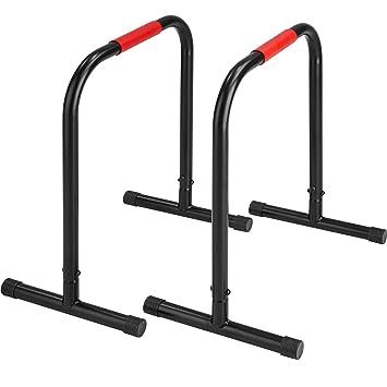 TecTake Paire de barres parallèles station de fitness  31373930e07