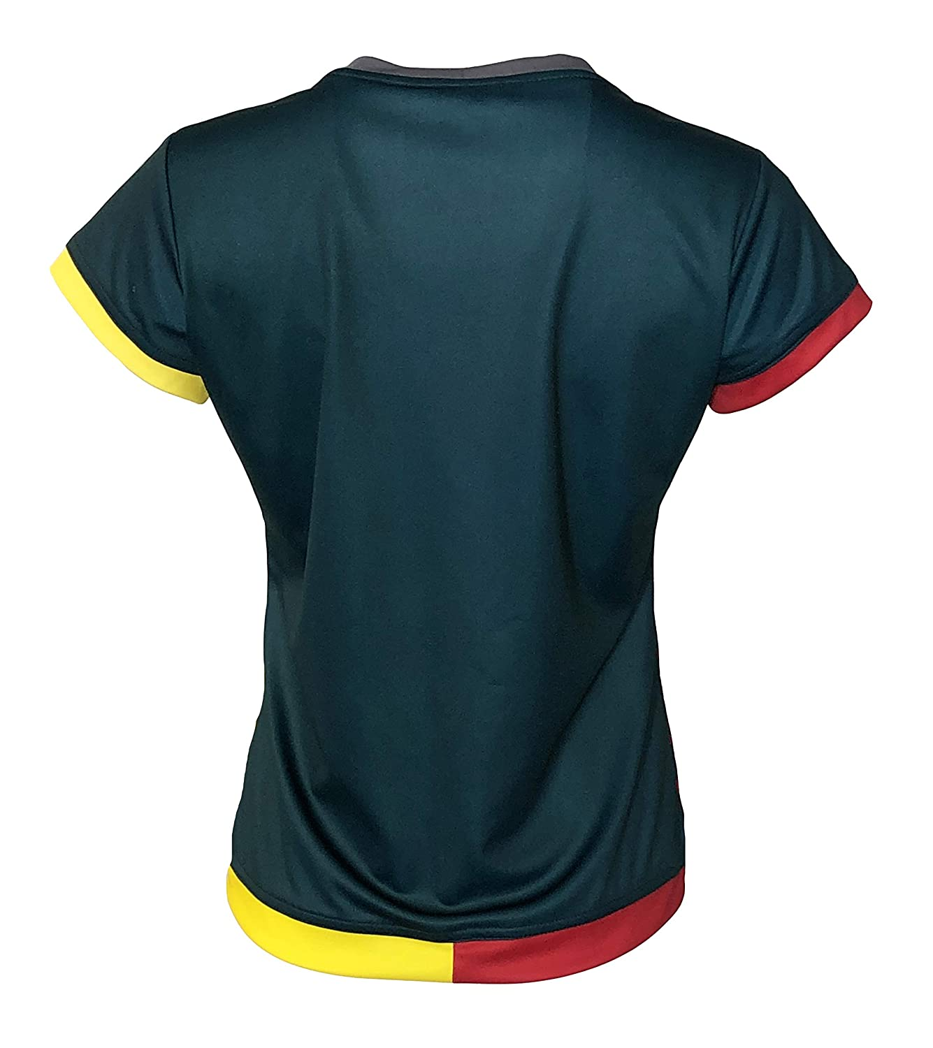Arza New Women Cameroon Soccer Jersey Green 100/% Polyester/_Made in Mexico