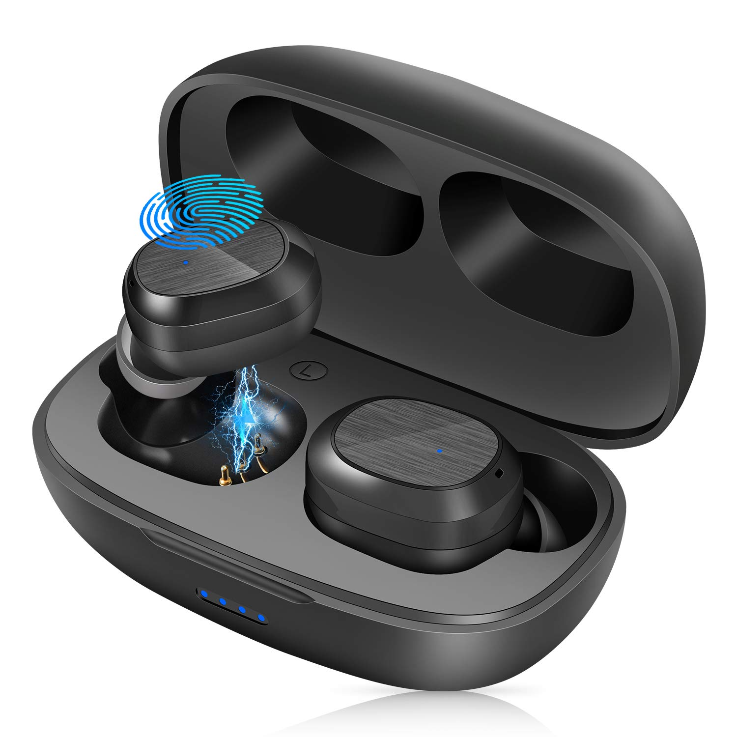 Auricolari Bluetooth 5.1 Cuffie Wireless