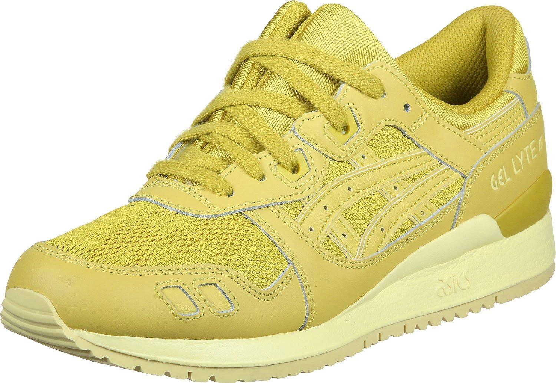 Asics Gel-Lyte III Schuhe Damen Turnschuhe Turnschuhe Gelb H756L 0303