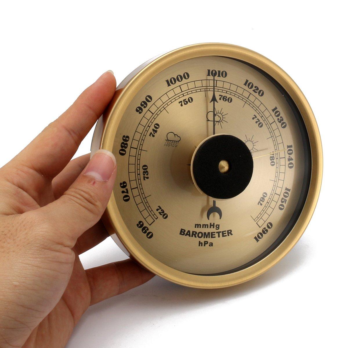 ~ Rampicante Esterno Barometro Meteo Pioggia Vetro Air Pressure Gauge 960 1060 Hpa Generic