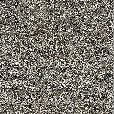 Panel decorativo WallFace 14804 LAVA Autoadhesivo de diseño piedra y efecto metal color gris roca y plata 2,60 m2: Amazon.es: Bricolaje y herramientas