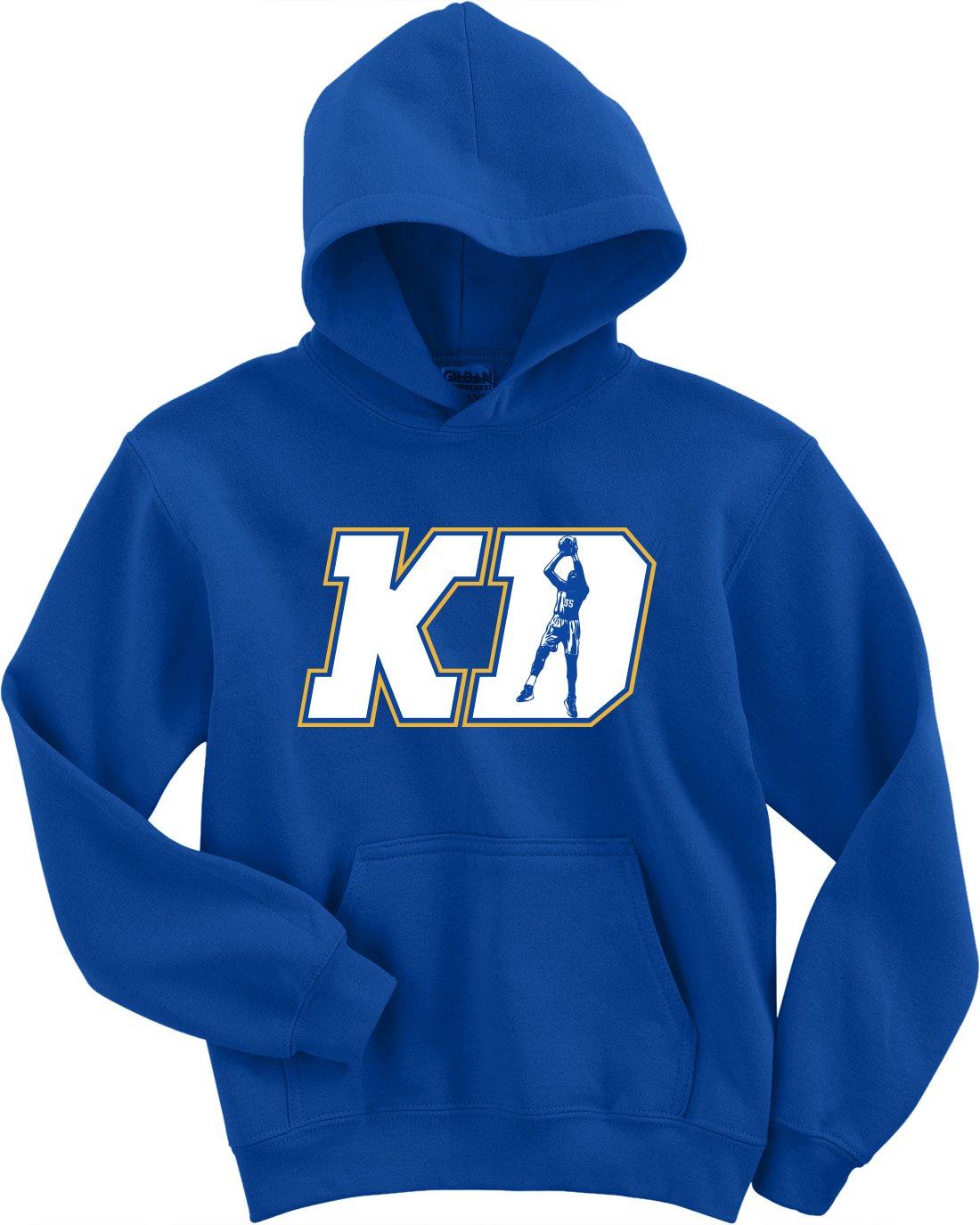 Royal Kd Durant Golden State Kd Logo Hooded 2236 Shirts