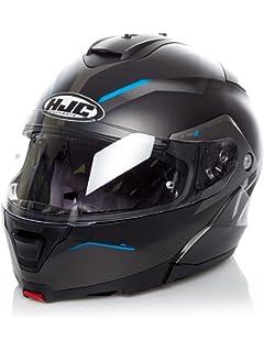 9b8a9cd5 HJC IS-MAX 2 II Dova Flip Front Flip Up Motorcycle Helmet - Blue MC2SF